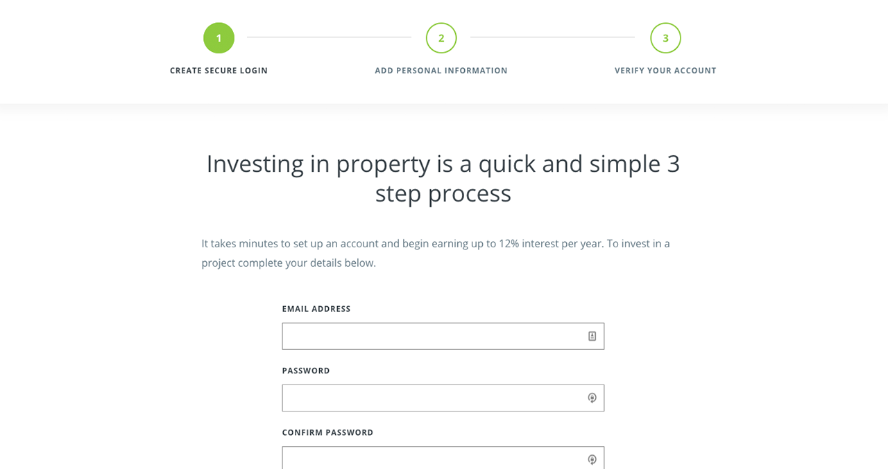 How the Lendy P2P secured property platform works